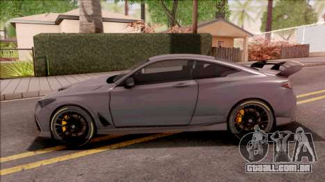 Infiniti Q60 Project Black S 2018 para GTA San Andreas