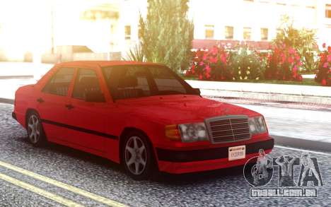 Mercedes-Benz W124 1-ST Generation LQ para GTA San Andreas