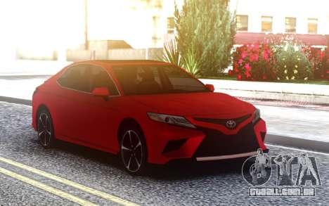 Toyota Camry XSE V6 3.5 2018 LQ para GTA San Andreas