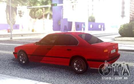 BMW 525i E34 para GTA San Andreas