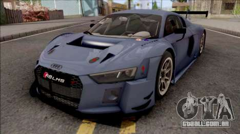 Audi R8 LMS 2016 Paint Job Preset 1 para GTA San Andreas
