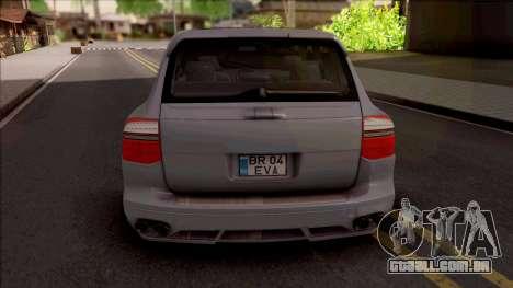 Porsche Cayenne Magnum para GTA San Andreas