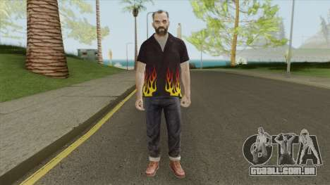 Trevor Phillips Skin From GTA V para GTA San Andreas
