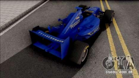 Prost Peugeot AP03 F1 2000 para GTA San Andreas