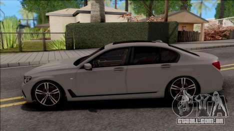 BMW 7-Series M750i para GTA San Andreas