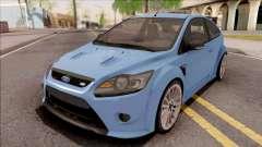 Ford Focus RS 2010 Blue para GTA San Andreas