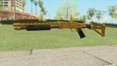 Shrewsbury Pump Shotgun (Luxury Finish) GTA V V4 para GTA San Andreas