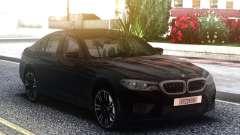 BMW M5 F90 Black Sedan para GTA San Andreas