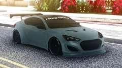 Hyundai Genesis Coupe Original para GTA San Andreas