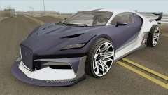 Truffade Thrax GTA V IVF para GTA San Andreas