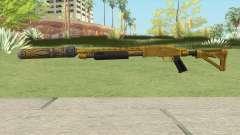 Shrewsbury Pump Shotgun (Luxury Finish) GTA V V3 para GTA San Andreas