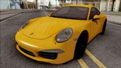 Porsche 911 Carrera S Yellow para GTA San Andreas