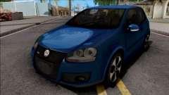 Volkswagen Golf GTI Blue para GTA San Andreas