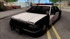 Chevrolet Caprice 1992 Polícia LVPD SA Estilo para GTA San Andreas