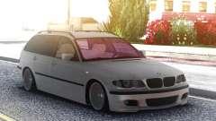 BMW 330XD E46 2001. 3l. diesel combi para GTA San Andreas