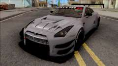 Nissan GT-R Nismo GT3 2014 Paint Job Preset 1 para GTA San Andreas