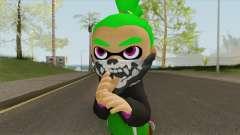 Inkling Boy Green V1 (Splatoon) para GTA San Andreas