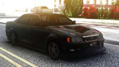 Toyota Chaser Sedan Black para GTA San Andreas