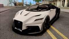 GTA V Truffade Thrax Stock para GTA San Andreas