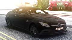 Mercedes-Benz C63S Coupe BRABUS para GTA San Andreas