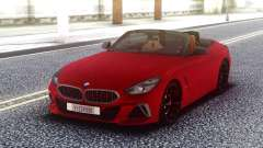 BMW Z4 Red Cabrio para GTA San Andreas