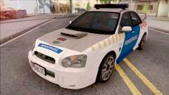 Subaru Impreza WRX STi 2004 Magyar Rendorseg