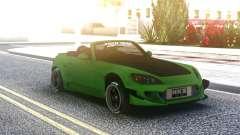 Honda S2000 Cabrio Green para GTA San Andreas