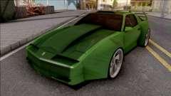 Pontiac Trans AM 1987 Green para GTA San Andreas