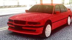BMW 750IL Red para GTA San Andreas