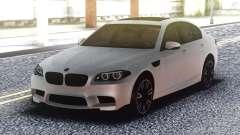 BMW M5 F10 Original White para GTA San Andreas