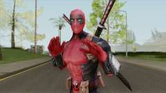 Deadpool From Marvel Super Wars para GTA San Andreas