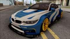 BMW M4 F82 2015 Raijin Kit para GTA San Andreas