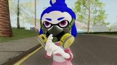 Inkling Girl Blue (Splatoon) para GTA San Andreas