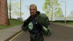 Green Lantern: John Stewart V2 para GTA San Andreas