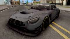 Mercedes-AMG GT3 2015 Paint Job Preset 2 para GTA San Andreas