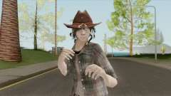 Carl Grimes Season 6 Skin para GTA San Andreas