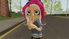 Octoling Girl Pink (Splatoon) para GTA San Andreas