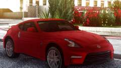 Nissan 370Z Original Red para GTA San Andreas