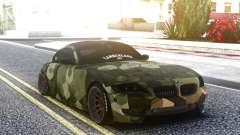 BMW Z4 Camo para GTA San Andreas