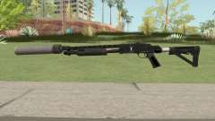 Shrewsbury Pump Shotgun GTA V V6 para GTA San Andreas