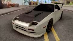 Mazda RX-7 FC3s Initial D fifth Stage Ryosuke para GTA San Andreas