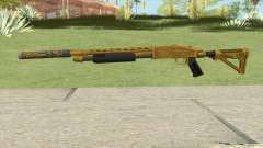Shrewsbury Pump Shotgun (Luxury Finish) GTA V V5 para GTA San Andreas