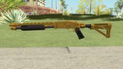 Shrewsbury Pump Shotgun (Luxury Finish) GTA V V1 para GTA San Andreas