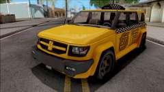 Saints Row IV Steer Taxi para GTA San Andreas