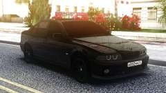 BMW M5 E39 Black Sedan para GTA San Andreas