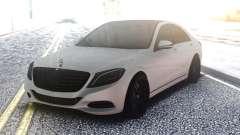 Mercedes-Benz W222 White para GTA San Andreas