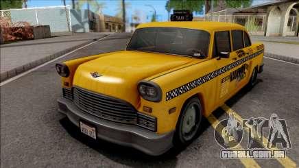 GTA III Declasse Cabbie VehFuncs Style para GTA San Andreas