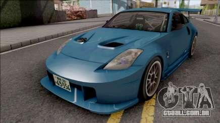 Nissan Fairlady Z33 Initial D Fifth Stage Ryuji para GTA San Andreas