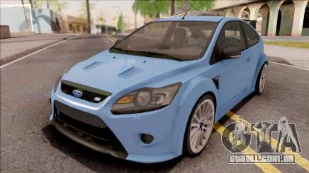 Ford Focus RS 2010 Blue para GTA San Andreas
