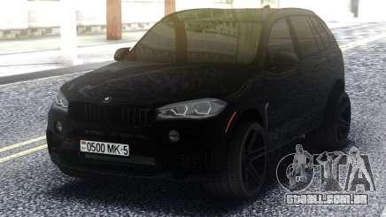BMW X5M All Black para GTA San Andreas